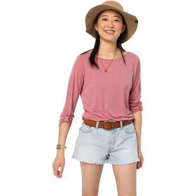 Jack Wolfskin Coral Coast 3/4 T-Shirt Women rose quartz